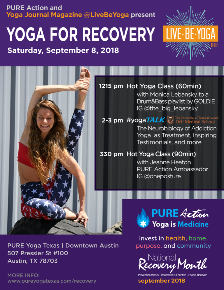 Yoga Journal flyer